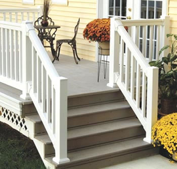 Fypon Quick Rail System Porch Post System